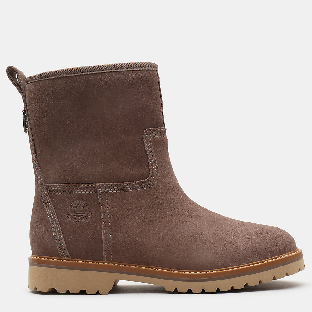 Timberland Chamonix Valley Pull-on Bayan Bot Taupe - TR1594SIO